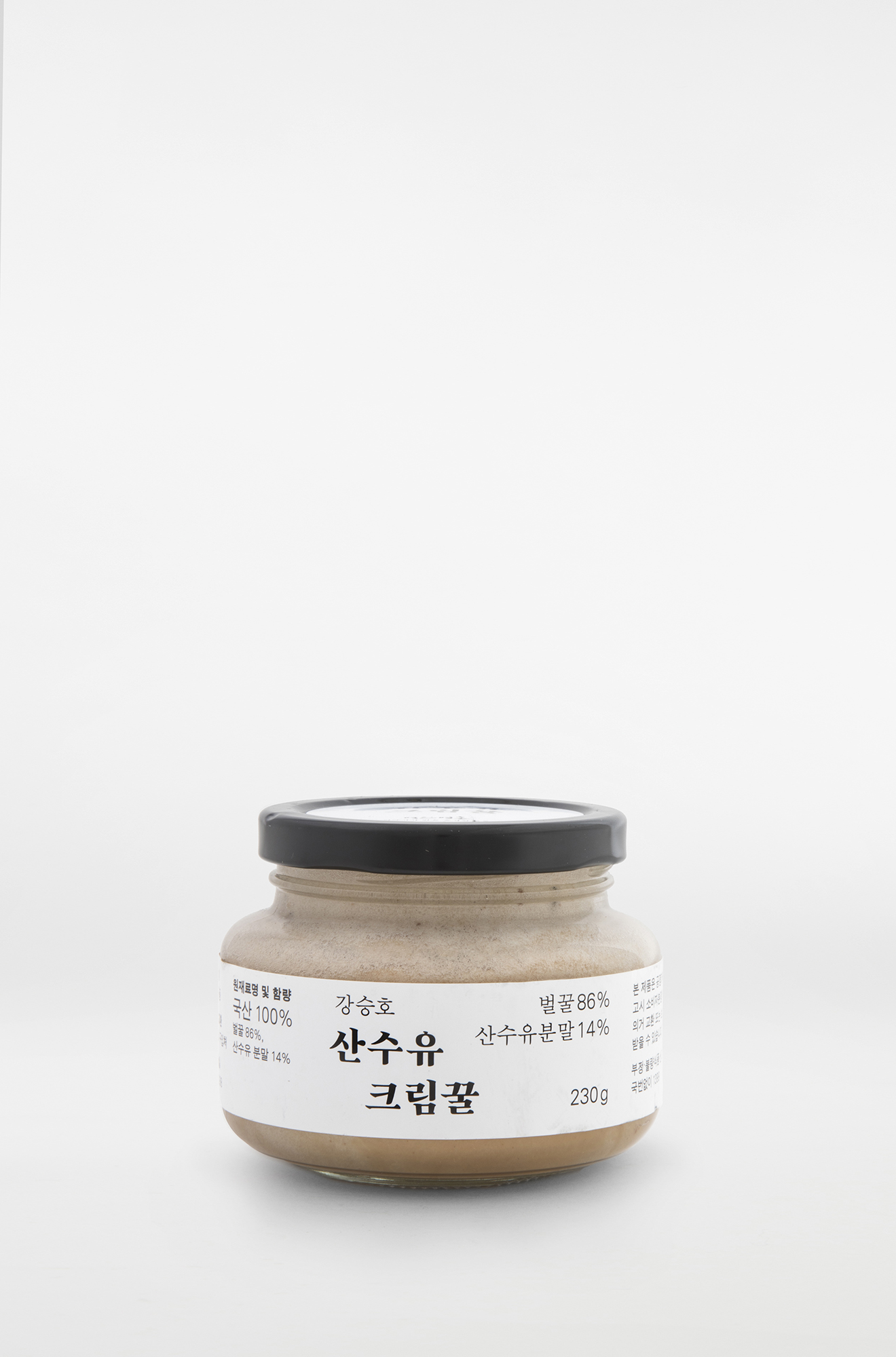 강승호 산수유 크림꿀